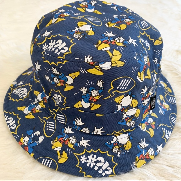 d5fed8277 VANS x DISNEY Donald Duck Reversible Bucket Hat